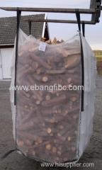 Firewood pellet Ventilated Mesh Jumbo Bags