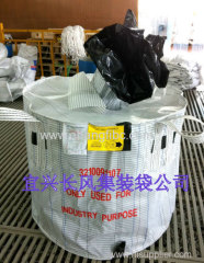 circular FIBC jumbo bag for steel balls