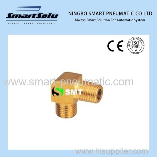 Brass pipe pneumatic fittings