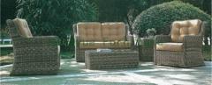 Garden sofa set furniture outdoor wicker furniture set