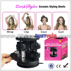Top style heated hair tool
