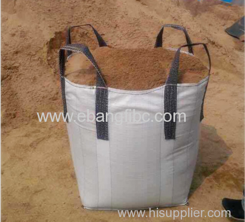500 Kg Fibc Bag For Sand With Flap