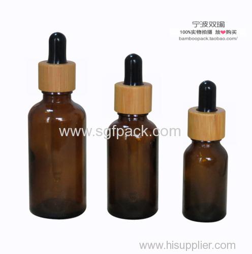 amber color bottle with dark color dropper