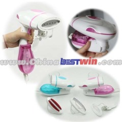 Garment travel steamer iron