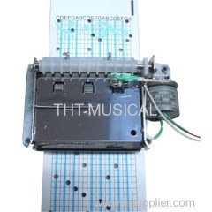 AUTOMATIC PAPER STRIP MUSIC BOX