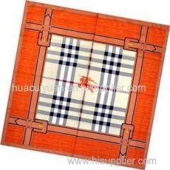 Silk Twill Square Scarf