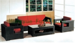 Patio brown wicker sofa sets furniture designs from China