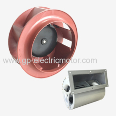 DC EC radial centrifugal fan