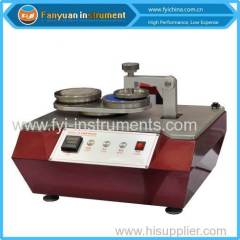 Circular Locus Mothed Fabric Surface Fuzzing Tester