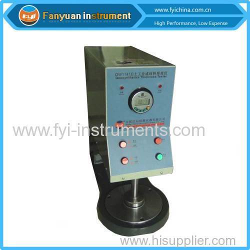Geotextile Thickness Tester ISO 9863
