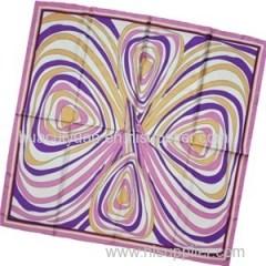 Silk Twill Scarf (dx0968-3)