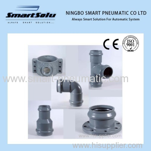 Fittings for Water Supply With Rubber Ring Joint