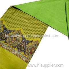 Double-Layer Screen Print Long Silk Scarf Wholesale China