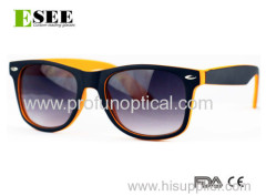 Soft touch finish Mix colors fashionable Sunglasses