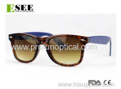 Eco Rectangular Gradient color sunglasses