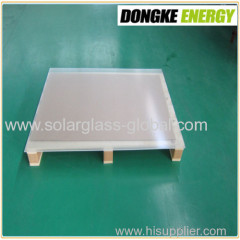 4.0mm AR Coated Solar glass with high quality