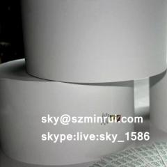 brittle destructible security label papers/destructible vinyl rolls/self adhesive paper rolls