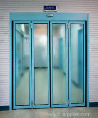 Automatic Folding Doors for Hospital Corridor
