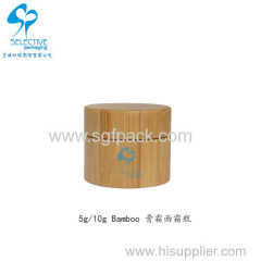 5g bamboo cream jar