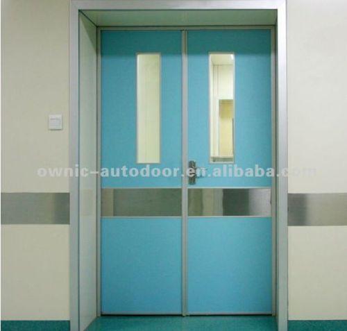 Paper Honeycomb Manual Swing Door For Hospital Application Double Open