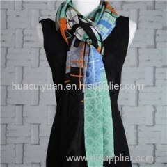 10% Silk 90% Wool Scarf