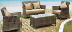 Wicker patio sofa set furniture rattan sofa set furniture supplier