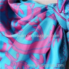 Custom Digital Print Pure Silk Square Scarf Factory China