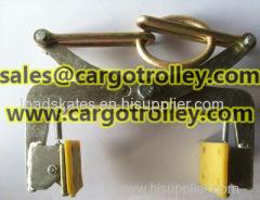 Scissor lifter clamps details