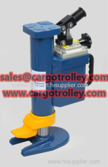 Hydraulic toe jack safety and durable