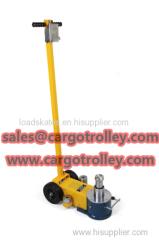 Air hydraulic floor jack price list