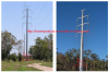 power transmission pole tower
