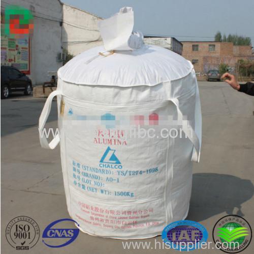1.0 ton jumbo big bag for aluminium oxide powder