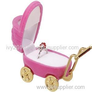 Baby Carriage Shape Ring Box