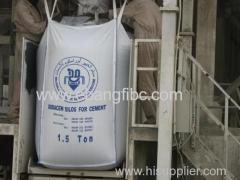 1.0 ton Iran standard bulk cement big bag jumbo bag FIBC bag