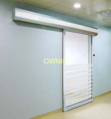 Good performance automatic ICU sliding glass door