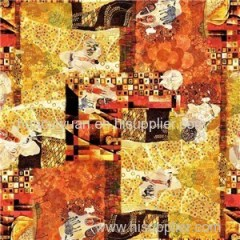 Digital Print Silk Scarf