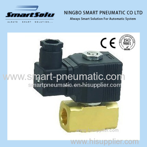 Brass Air Solenoid Valve pressure 0-12bar 1/2''3/8''