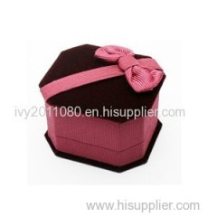 Velvet Jewelry Box For Ring