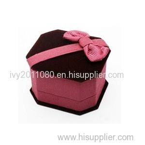Velvet Jewelry Box For Ring