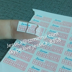 Best Quality Self Adhesive Paper Fragile Warranty Stickers Destructible Vinyl Label Warranty Date Security Label Sticker