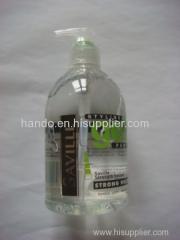 strong hair gel with pump head