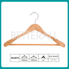 Hotel Wooden Coat Hanger