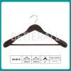 Dark Brown Wide Shoulder Wooden Coat Hanger