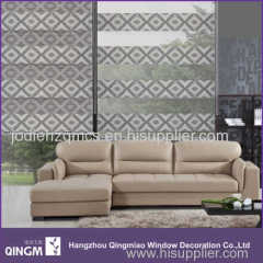 QINGM Direct Sale Of All Modern Shading Jacquard Blind Vintga Style