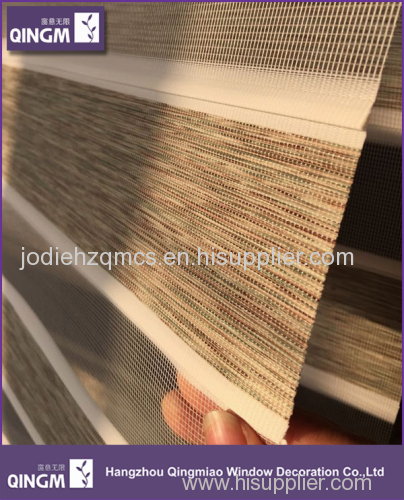 Hot Selling Alibaba China 100% Polyester Linnet Thick Zebra Blind