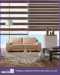 New Developed Decorative Window Zebra Blinds Hand Controlled Zebra Blind