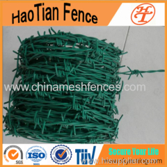 Double Twist Barbed wire fencing real factory