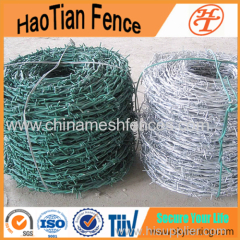 Barbed Wire Single Coil or Crossed