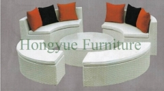 Wicker sofa set furniture wicker outdoor patio sofa set