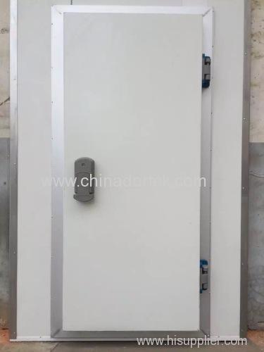 high quality swing freezer doors with European door locks and hinges